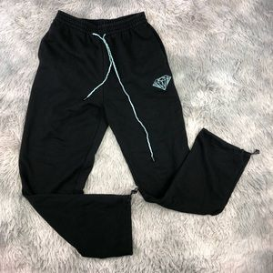 Diamond Supply Co. Black Jogger Sweatpants L